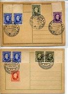 41148 Slovakia, 2 Cards 1939 Bratislava+ruzomberok, First Anniversay Death Andreja Hlinku, Patriot - Slovaquie