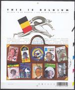 BELGIQUE 2004 Nº 3222/31 EN HB USADO 1º DIA - Bélgica