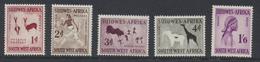 South West Africa - Sud Ouest Africain 1960 Série Courante   Filigrane Armoiries D'Afrique Du Sud *** MNH - Afrique Du Sud-Ouest (1923-1990)
