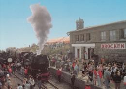 99 7244-9 Bei Aufnahme Des Zugverkehrs Zum Brocken 15.09.91, Ungelaufen - Trenes