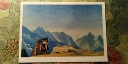 "Nicholas Roerich - ""Geser Sword""   HIMALAYA - Old USSR PC 1974 - Tibet"