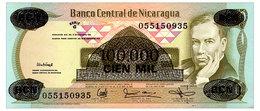 NICARAGUA 100000 CORDOBAS 1987 Pick 149 Unc - Nicaragua