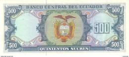 ECUADOR P. 124A 500 S 1988 UNC - Equateur