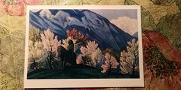 """Nicholas Roerich - """"Guga Chokhan""""   HIMALAYA - Old USSR PC 1974 - Tibet"""