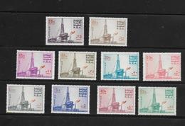 O) 1976 SAUDI ARABIA, AL  KHAFJI  OIL RIG-PLATFORM, SCT A109 -SET MNH - Saudi Arabia