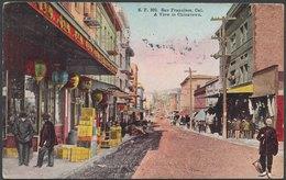 USA - Califronia, A View In Chinatown San Francisco - San Francisco