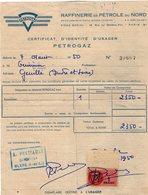 VP14.016 - Facture - PETROGAZ - Raffinerie De Pétrole Du Nord à PARIS & BLERE - Electricity & Gas