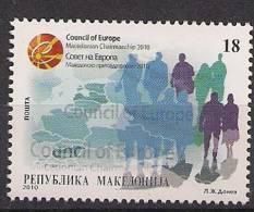 2010 Makedonien Macedoine Mi. 543 ** MNH - Europäischer Gedanke