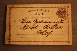 ( 1457 ) GS DR  P 1  Gelaufen  -   Erhaltung Siehe Bild - Postwaardestukken