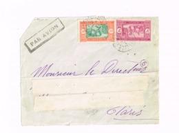 Devant De Lettre De Saint-Louis à Paris - Sénégal (1887-1944)