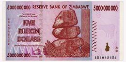ZIMBABWE 5 MLRD DOLLARS 2008 Pick 84 Unc - Zimbabwe