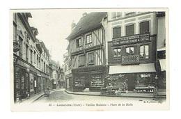 EURE 27 LOUVIERS Vieilles Maisons Place De La Halle - Louviers