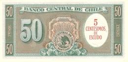 CHILE P. 126a 50 C 1960 UNC - Chili