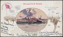 AUSTRALIA - Sydney NSW, On Board S.S.Ventura - Sydney
