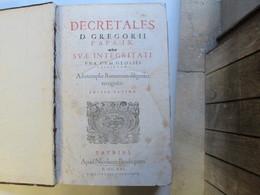 Decrets De D. Gregor  2    Derniere Edition - Droit