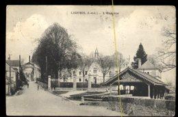 Ligueil: L'hospice (lavoir) - Francia