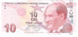 Turkey 10 Lira 2017 P223c UNC - Turquie