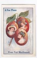 Port MacDonnell South Australia, 'A Few Plums' Fold-out Images Under Flap, C1910s Vintage Postcard - Other