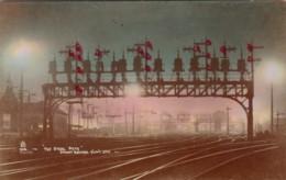 Sydney Australia, The Steel Path, Sydney Central Railway Station And Yard, C1920s/30s Vintage Postcard - Sydney