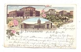 RU 190000 SANKT PETERSBURG, Lithographie 1896 - Russland