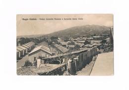 Cartolina - Postcard - Viaggiata - Sent - Reggio Calabria - Veduta Baracche Romane (piega Angolo Sinistro) - Reggio Calabria