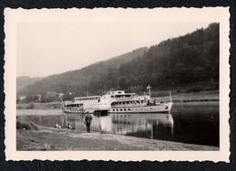 C1296 - Foto MS Karl Marx Elbeschifffahrt Schifffahrt - Steamers