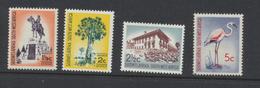 South West Africa - Sud Ouest Africain 1962 - 1966 Série Courante   Sans Filigrane 1 1/2c , 2c , 2 1/2c Et 5c *** MNH - Africa Del Sud-Ovest (1923-1990)
