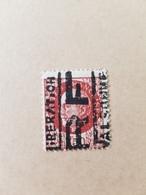 Extremement Rare ! Bersier 1f50 Libération De Valbonne, Tirage Très Limité, 1 Timbre + 1 Sur Fragment De Lettre - Libération