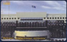 KAZAKHSTAN KAZAKTELECOM 550 UNITS CHIP PHONECARD TELEPHONE CARD TELECARTE ASTANA CITY 1998 - Kazakhstan