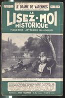 Revue Le Lisez-Moi Historique N° 27 Du 5 Avril 1937 - Tallandier - Sommaire En Une De Couverture - Livres, BD, Revues
