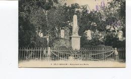 CPA - ALGERIE - DELY IBRAHIM Monument Aux Morts   - Circulée - - Autres Villes