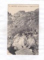 CPA  - 2741.  -  Alpes De Savoie.  -  Environs Du Petit St-Bernard. - Passage Du Lac Sans Fond - France