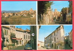 CPM-34-THEZAN-Les-BEZIERS _ Multivues -rue J.Griffe- LA POSTE - OPEL MANTA - Café Des Sports** 2 SCANS - Other Municipalities