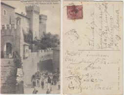 Collalto Sabino - Ingresso Al Castello Baronale E Processione Della Madonna Del SS. Rosario - Altre Città