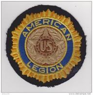 ÉCUSSON TISSU - AMERICAN US LEGION - - Patches