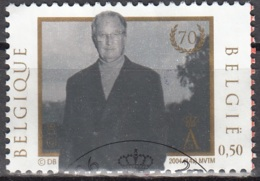Belgique 2004 COB 3289 O Cote (2016) 0.50 Euro Roi Albert II Cachet Rond - Belgique