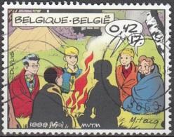 Belgique 1999 COB 2844 O Cote (2016) 1.00 Euro Bande Dessinée La Patrouille Des Castors Cachet Rond - Oblitérés