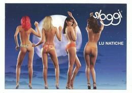 CPM Publicitaire Lingerie Femme Slip SLOGGI -  4 Pin Up Lu Natiche - Moda