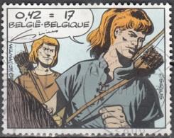 Belgique 1999 COB 2849 O Cote (2016) 1.00 Euro Bande Dessinée Les Timour Cachet Rond - Oblitérés