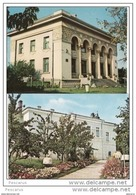 Romania,Rumanien,Roumanie     - Husi (jud. Vaslui ) - Banca Nationala. National Bank. Muzeul-2 Cards - Romania