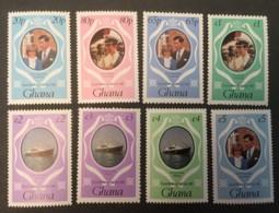 GHANA - MNH** - 1981 - # 759/761 7 VALUES - Ghana (1957-...)