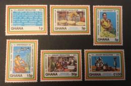 GHANA - MNH** - 1973 - # 472/477 - Ghana (1957-...)