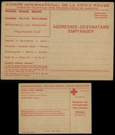 S6082 - DR Rotes Kreuz Poskarte Für Kriegsgefangene : Ungebraucht. - Lettres & Documents