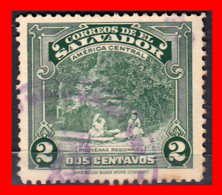 EL SALVADOR AÑO 1924-25 – 2 CENTAVOS INDIAN SUGAR MILL - El Salvador