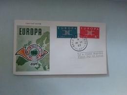 FDC EUROPA CEPT -  1963 - EIRE - Europa-CEPT
