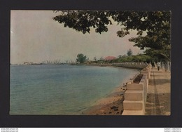 LOBITO 1960 YEARS AFRICA AFRIKA AFRIQUE ANGOLA BAY & SPIT PARTIAL VIEW POSTCARD - Angola