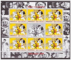 0800 Angola 2000 Disney 101 Dalmatier Dogs S/S MNH - Disney