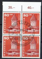 Schweiz 1993 // Mi. 1511 O 4er (032..875) - Svizzera
