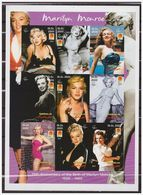 0776 Somalia 2001 Marilyn Monroe S/S MNH Imperf - Acteurs
