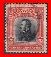 EL SALVADOR AÑO 1912 – 5 CENTAVO FRANCISCO MORAZAN - El Salvador
